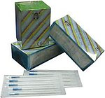 Acupuncture Needles - Silver handle without guide tube, 100 Pcs/Box